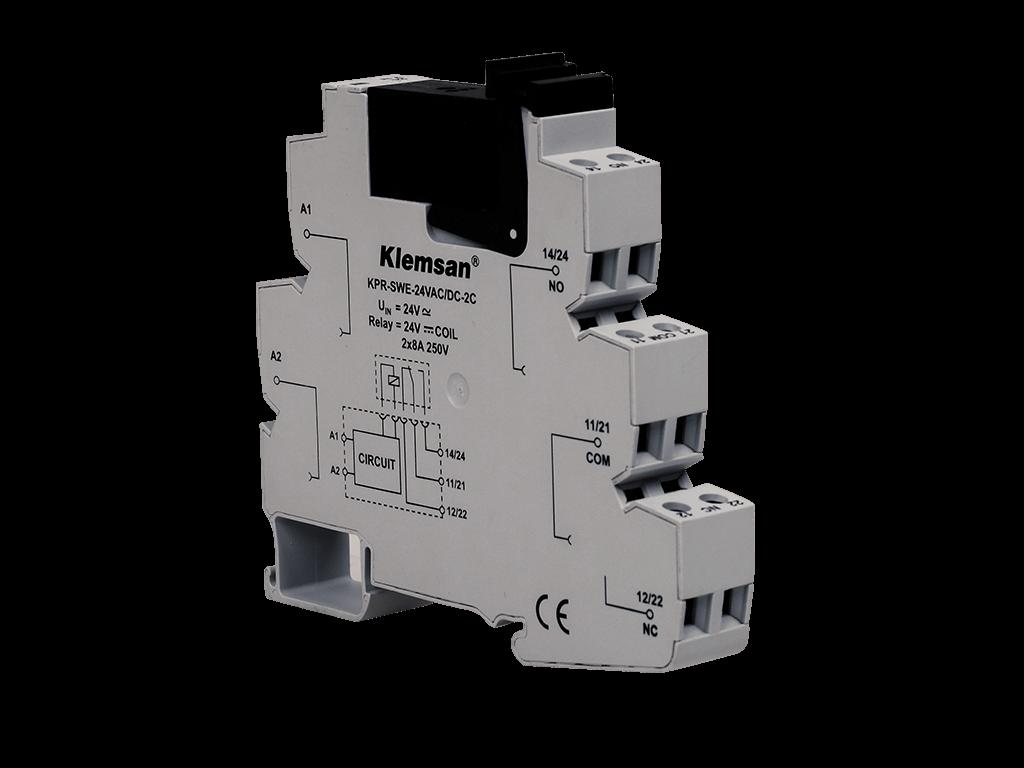 Klemsan Relay Terminal Definition 2 C 0 Plc